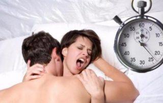 quanto dura il sesso normalmente